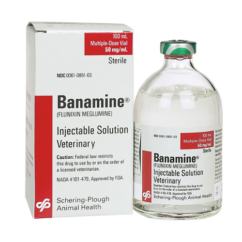 Banamine® Injectable 50mg/ml Solution 250ml vial