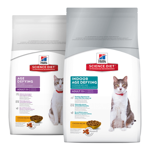 Hill's Science Diet® Cat Senior (11+) Age Defying™