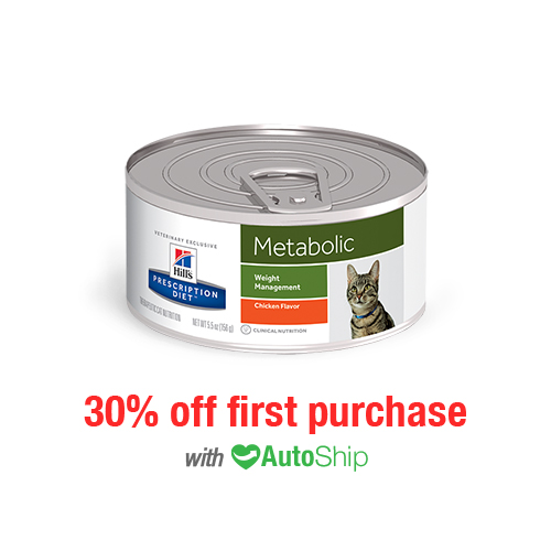 Hill's® Prescription Diet® Cat Metabolic Weight Management Cans